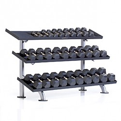 PPF-754T 3-Tier Tray Dumbbell Rack